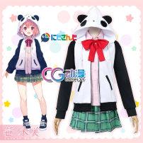 Cosplay women's wear suit Customized Over 14 years old Female (single coat), female Sasaki comic S. M, l, XL, customized CGCOS Japan Cosplay clothing vTuber Sasamura