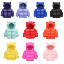 Cotton padded jacket neutral No detachable cap Cotton 96% and above Other / other 73cm,80cm,90cm,100cm,110cm,120cm Plush Zipper shirt leisure time There are models in the real shooting Solid color cotton Class C Crew neck 6 months, 12 months, 9 months, 18 months, 2 years, 3 years, 4 years