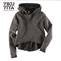Sweater / sweater Spring 2017 dark grey XS,S,M,L,XL,2XL Long sleeves routine Socket singleton  routine Hood Self cultivation street routine Solid color 18-24 years old 51% (inclusive) - 70% (inclusive) polyester fiber Sports & Leisure