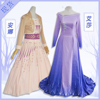 Cosplay women's wear suit Pre sale Over 8 years old Aisha pink purple, Aisha pink purple clothing + skirt, Aisha rose red, Anna light yellow Movies L,M,S,XL Xfancey / Xiao Fansi Cos