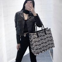 Bag handbag Textile Tote Bag PINKO brand new European and American fashion large leisure time soft no Animal design nothing youth Soft handle