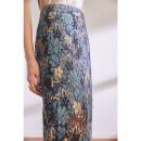 skirt Spring 2021 S,M,L,XL Blue, gold Mid length dress grace High waist skirt Decor Type H BQ00793 More than 95% Lace The magic magician of Oz polyester fiber Hollow, lace