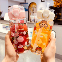 flower receptacle circular printing 301 ml (including) - 400 ml (including) 1 Chinese Mainland Self made pictures Heat resistant glass RMB 10-19.9 yes student Xiaoxinqing Korean style motion
