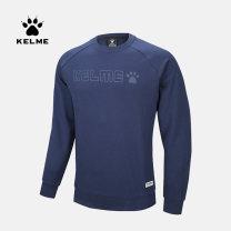 Sportswear / Pullover S/165 M/170 L/175 XL/180 XXL/185 XXXL/190 KELME male Socket Crew neck Autumn of 2019 Brand logo cotton Sports & Leisure keep warm Sports Life Series