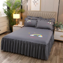 Bed skirt Others Gray, red, yellow, purple, beige, royal blue, pink, jade, coffee, bean paste Xuanyu Others Qualified products