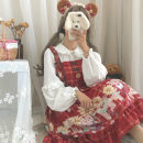 Dress Autumn of 2019 One size fits all, XXS pre-sale Middle-skirt singleton  Long sleeves Sweet Socket Princess Dress other 18-24 years old Type A Other / other Lolita