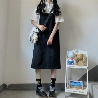 Fashion suit Summer 2021 Average size Shirt, suspender, skirt 18-25 years old 30% and below