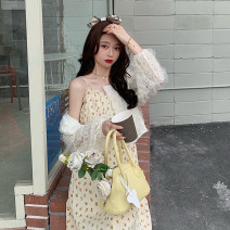 Fashion suit Summer 2021 Average size Suspender skirt, cardigan 18-25 years old 30% and below