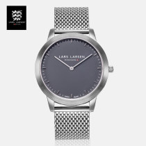 Watch in Europe and America Synthetic sapphire watch mirror National joint guarantee stainless steel Europe and America stainless steel quartz movement  female 50m LARS LARSEN fashion 135SGSM Grey 2688 black 2688 white 2688 circular Pointer type ordinary ordinary other