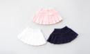 skirt 90cm,100cm,110cm,120cm,130cm,140cm,150cm,160cm,170cm Other / other female Cotton 100% summer skirt motion Solid color Pleats cotton Class B