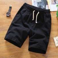Casual pants Others Youth fashion B white, b black, B gray, B blue, B dark green, white T 5XL,4XL,3XL,2XL,XL,L,M routine Shorts (up to knee) Other leisure easy Micro bomb summer youth Chinese style 2018 middle-waisted Straight cylinder Cotton 100% Sports pants Pocket decoration Solid color cotton
