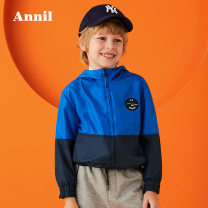Jacket / leather Annil / anel male Comet blue gentian purple honey orange 110cm 120cm 130cm 140cm 150cm 160cm 170cm chemical fiber leisure time spring and autumn No detachable cap Zipper shirt There are models in the real shooting EB935306 Polyester 100% Autumn of 2019