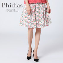 skirt Summer of 2019 T1 T2 T3 Decor Middle-skirt Sweet Natural waist Pleated skirt Decor 30-34 years old P193J149 More than 95% Phidias / Phidias cotton Cotton 100% Same model in shopping mall (sold online and offline) Countryside