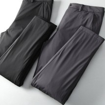 Down pants Deep octave style Black, gray 30,31,32,33,34,36,38,40 Fashion City trousers Wear out White Velvet leisure time youth 301#JDXP Basic public Slim fit Solid color