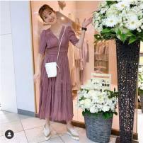 Dress Spring 2020 Purple, mint S, M