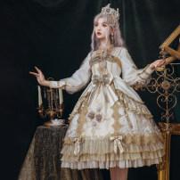 Lolita / soft girl / dress Nanluming Show only Winter, spring, autumn goods in stock Classic, Lolita, Lolita