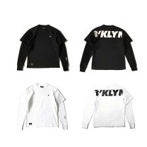 T-shirt Youth fashion White, black thick RADIUM Long sleeves Crew neck easy campus autumn Cotton 100% teenagers routine Youthful vigor Sweat cloth 2018 Solid color Embroidery cotton The thought of writing washing Fashion brand