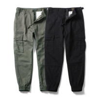 Casual pants RADIUM Youth fashion Army green S,M,L,XL,XS(165) thick Ninth pants Other leisure Self cultivation No bullet Four seasons teenagers tide 2017 middle-waisted Little feet Cotton 100% Haren pants Pocket decoration washing Solid color Fine canvas cotton cotton Fashion brand More than 95%