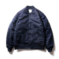 cotton-padded clothes Black, Navy, army green RADIUM S,M,L,XL,XS165 Youth fashion thickening have cash less than that is registered in the accounts standard Other leisure New polyester fiber 100% stand collar teenagers Single breasted tide Spray glue cotton Rib hem Solid color Mingji thread patch bag