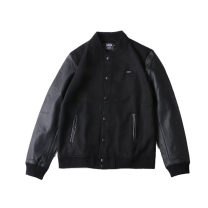 Jacket RADIUM Fashion City S,M,L,XL,XS routine Self cultivation Other leisure autumn Long sleeves Wear out stand collar Japanese Retro youth routine Single breasted 2016 Rib hem Primary color Closing sleeve Solid color Woollen cloth Button decoration Thread embedding and bag digging wool