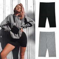 Leggings Summer 2021 S,M,L Thin money shorts 18-24 years old pure cotton 91% (inclusive) - 95% (inclusive)