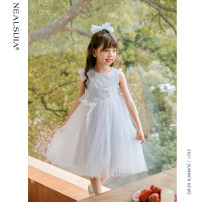 Dress Narcissus blue collection and purchase, priority delivery female Nilska 110cm 120cm 130cm 140cm 150cm 160cm Other 100% summer princess Skirt / vest Solid color Netting Cake skirt 21LYQ8061 Class B Summer 2021 Chinese Mainland Zhejiang Province Hangzhou