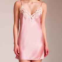 Pajamas / housewear set female ANGLADI S,M,L,XL Cherry Blossom powder other