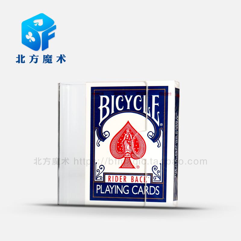 magic props  Card clip poker Transparent acrylic Northern magic Close range magic nothing