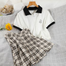 Fashion suit Summer 2021 S,M,L white 18-25 years old 51% (inclusive) - 70% (inclusive) cotton
