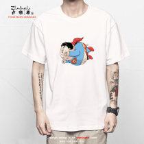 T-shirt Модный город общепринятый захватчик XXL / 185 белый ZL16B231 100% хлопок Хлопковая ткань Осень 2016