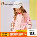 Sweater / sweater Hush Puppies / Hush Puppies Pink Elgar green coral red elgar-hpodgd34cq964 female 105cm 110cm 120cm 130cm 140cm 150cm 160cm 170cm spring and autumn nothing leisure time Socket routine There are models in the real shooting cotton Cartoon animation Cotton 100% HPOQGD24CQ759 Class B