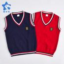 Vest sling Red blue Knitted vest 110 120 130 140 150 160 170 180 190 No season Vimet neutral No model college Solid color V-neck nothing blending Cotton 60% viscose (viscose) 25% polyamide (nylon) 15% 910BX01 Class B