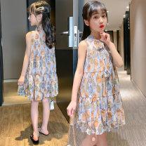 Dress Floral skirt female 110cm 120cm 130cm 140cm 150cm 160cm Other 100% summer princess Skirt / vest other other Strapless skirt Class B Summer 2020 Five, six, seven, eight, nine, ten, eleven, twelve, thirteen