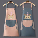 apron Sleeveless apron waterproof Cartoon PVC Personal washing / cleaning / care Average size HL521 Dilong (home) public yes Cartoon