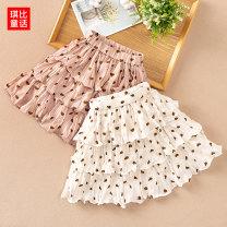 skirt Kibby's Fairy Tales female Polyester 100% summer skirt fresh Dot Cake skirt other Class B Spring 2020