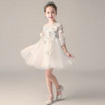 Children's dress female 110cm 120cm 130cm 140cm 150cm 160cm full dress BL192 Class B other Polyester 100% Autumn of 2018