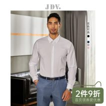 shirt Business gentleman J.D.V 180/100A 185/104A 165/84A 170/88A 175/92A 180/96A White black Navy grey routine Pointed collar (regular) Long sleeves Self cultivation Other leisure autumn WIF8934 youth Polyester 96% polyurethane elastic fiber (spandex) 4% Solid color Autumn of 2018