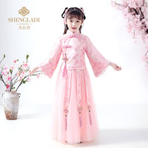 Tang costume 100 110 120 130 140 150 160 Polyester 100% female No season There are models in the real shooting routine Saint Latisse other Broken flowers SLD190182 Chinese Mainland Winter of 2019