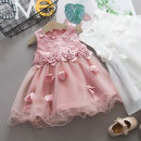 Dress White pink female Shapeshift house 73cm 80cm 90cm 100cm 110cm 120cm 5% polyester cotton 94 summer Skirt / vest Cartoon animation cotton Cake skirt 19xz023 Class A Summer 2020 3 months 12 months 6 months 9 months 18 months 2 years 3 years 4 years 5 years old Chinese Mainland