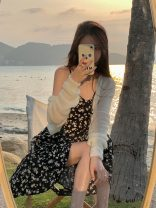 Dress Summer 2021 Black floral dress, white cardigan Average size Mid length dress Two piece set Sleeveless commute V-neck High waist Broken flowers zipper other other camisole 18-24 years old Type H Other / other Korean version backless 81% (inclusive) - 90% (inclusive) Chiffon other