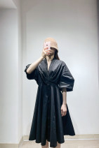 Dress Summer 2021 White, Ben Black / 001, apricot / 284 XS/150,S/155,M/160,L/165,XL/170 JNBY / Jiangnan cloth clothing