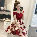 Dress Summer of 2018 gules S,M,L,XL 18-24 years old Other / other