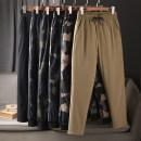 Down pants Hong Kong Black, khaki, khaki camouflage, dark grey camouflage, light grey camouflage, military green camouflage M,L,XL,2XL,3XL,4XL Youth fashion trousers Wear out White Velvet