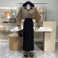 Fashion suit Spring 2021 S. M, average size Leopard shirt, black skirt 18-25 years old First Sight 31% (inclusive) - 50% (inclusive)