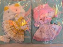BJD doll zone Dress 1/6 Over 14 years old goods in stock Pink yellow 6-point skirt socks hat
