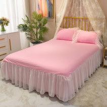 Bed skirt 120cmx200cm,150cmx200cm,180cmx200cm,200cmx220cm cotton Mianle Solid color