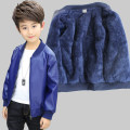 Jacket / leather Other / other male Black, brown, black fur with down, brown fur with down, blue embroidery thin, black embroidery thin, blue embroidery with down, black embroidery with down, blue fur with down, blue fur with down 90cm,100cm,110cm,120cm,130cm,140cm,150cm,160cm,170cm PU leather winter