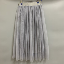 skirt Summer of 2019 Average size White, black, grey, dark grey