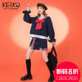 Fashion suit Autumn 2020 S M L XL Black top black skirt 25-35 years old Keiko / kellio K-20C60217 Cotton 55% polyethylene terephthalate (polyester) 45% Exclusive payment of tmall