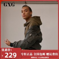 Jacket GXG Youth fashion green 190/XXXL,170/M,175/L,180/XL,185/XXL,165/S standard Other leisure spring GY121575A Polyester 100% Long sleeves Baseball collar youth routine Zipper placket polyester fiber polyester fiber More than 95%